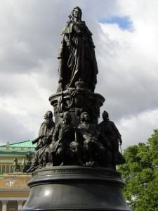 Statue of Catherine the Great, St. Petersburg