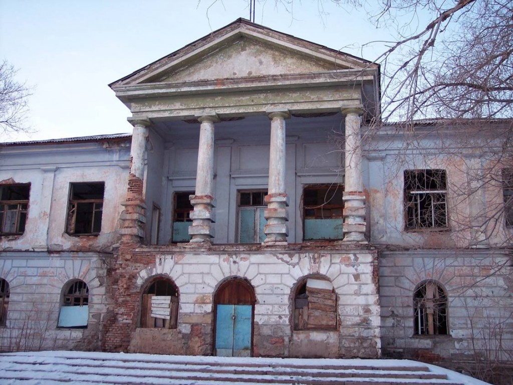 Former Karlag Headquarters, Dolinka, Kazakhstan, 2006. Photo by Steven A. Barnes
