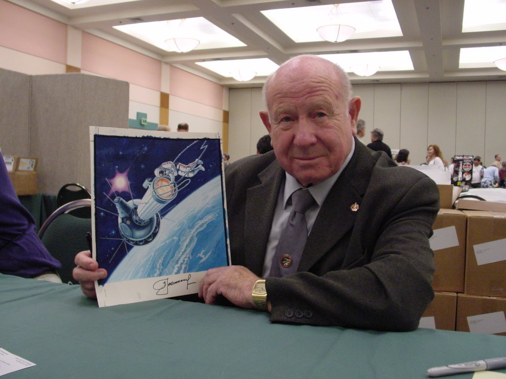 Leonov, the  cosmonaut-artist