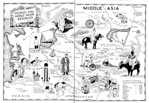 Amex Map of Middle Asia