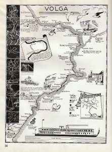 Volga map
