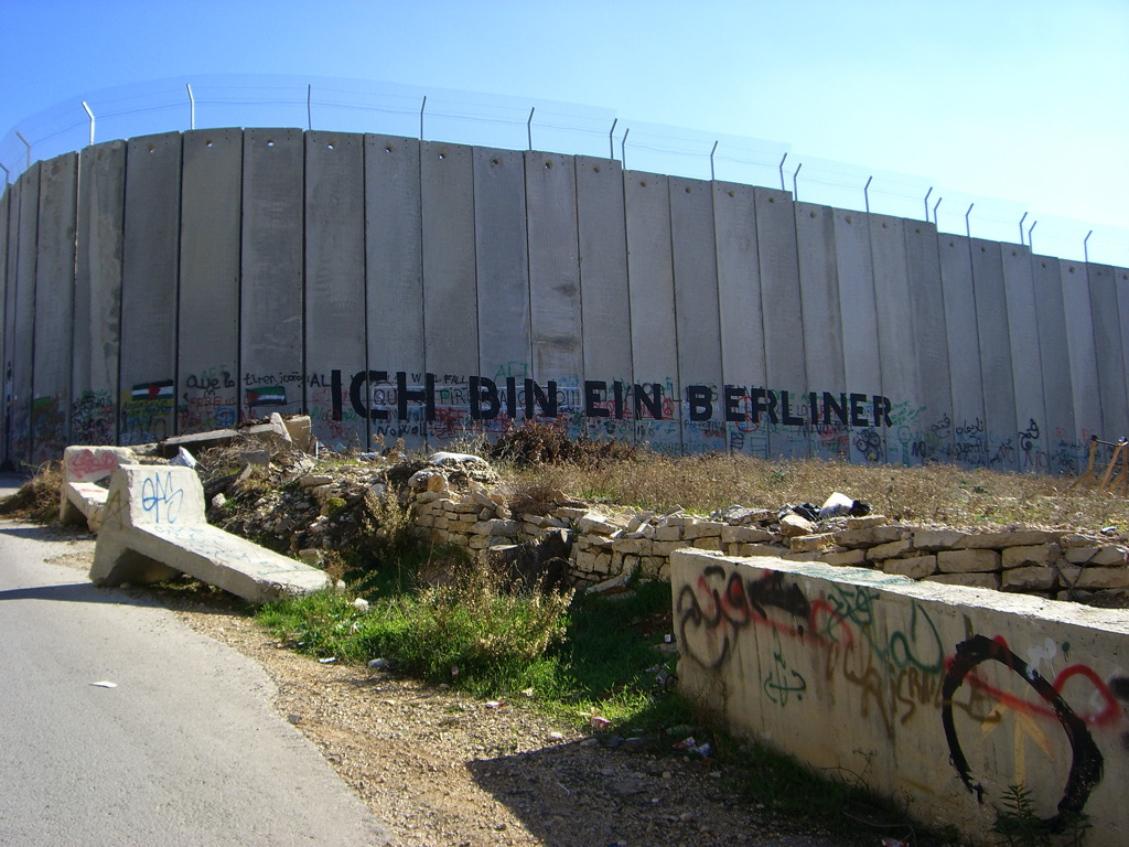 The Israeli West Bank Border Fence