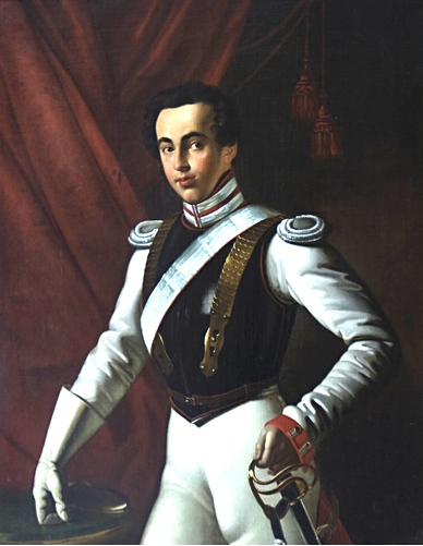 Portrait of Dmitry Nikolaevich Sheremetev
