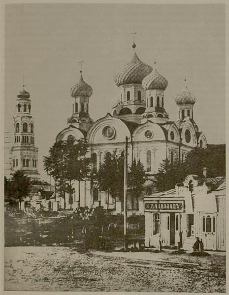 The Church of Christ's Birth in Ivanovo; Ivan Baburin contributed to its construction. Source: Фотосайт Владимира Побединского.