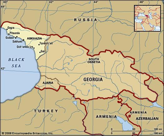abhazia map